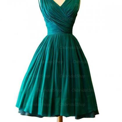 Ball Gowns Green Homecoming Dresses..