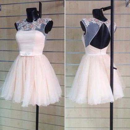 Applique Homecoming Dresses Capped ..