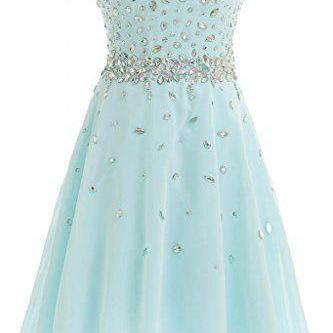 Mini Homecoming Dresses Light Blue ..