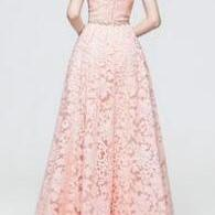 Beading Sweetheart A-line Lace Prom..