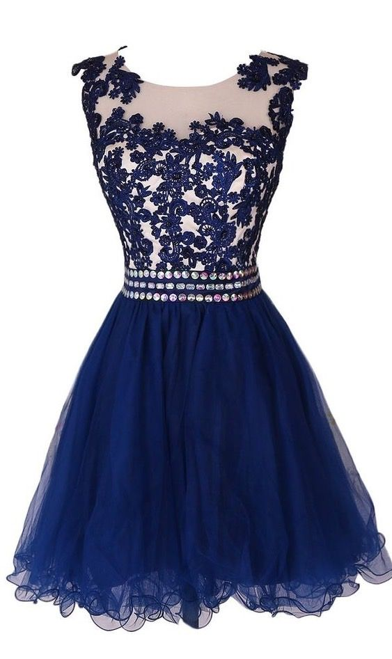 Side-Zipper Evening Dresses A lines Prom Dresses Bateau Homecoming Dresses