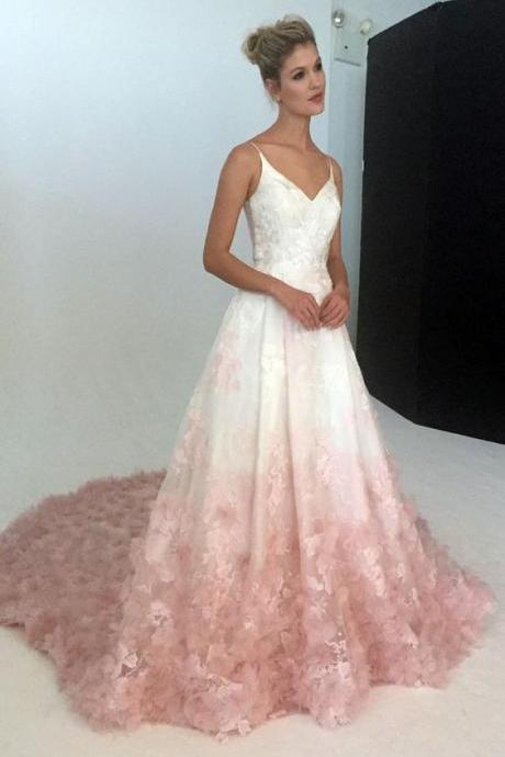 A Line Prom Dresses,White Evening Gowns,Sexy Formal Dresses,Beautiful Prom Dresses For Teens,Long Pr on Luulla