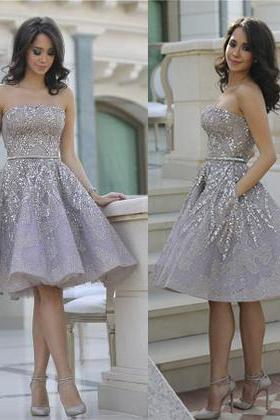 Short Homecoming Dress, Gorgeous Homecoming Dress, Strapless Prom Dress, Popular Homecoming Dress, S on Luulla