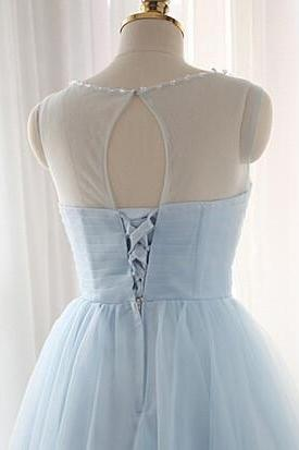 Charming Tulle Short Prom Dresses Homecoming Dresses