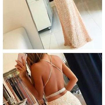 New Arrival Prom Dress,Prom Dress,sequin Prom Dress, Long Woman Dresses on Luulla