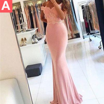 Sheath/Column Off-the-Shoulder Sleeveless Floor-Length Lace Prom Dresses 2017